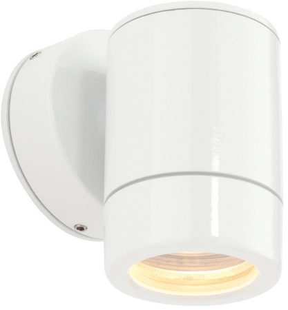 Odyssey White Finish Modern Outdoor Wall Down Spotlight