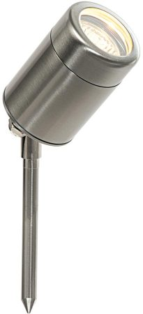 Odyssey Small Stainless Steel Garden Spike Spot Light