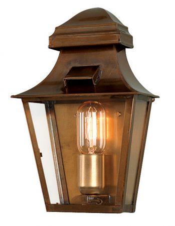 Elstead St Pauls Brass Priod Outdoor Wall Lantern