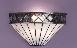 Fargo Art Deco Style Tiffany Wall Light