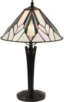 Astoria Small 1 Light Art Deco Design Tiffany Table Lamp