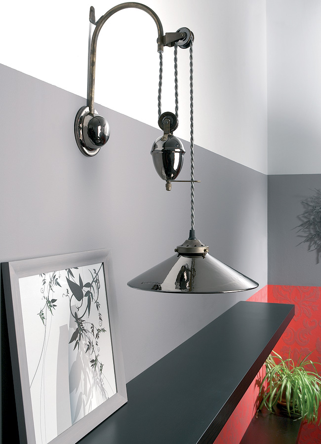 Large Ceramic Wall Lights : Large Ceramic Rise And Fall Pulley Wall Light Special Offer Universal Lighting