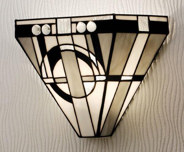 Metropolitan Tiffany Art Deco Style Wall Light