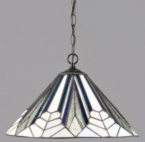Astoria Medium Tiffany 1 Lamp Art Deco Pendant Light