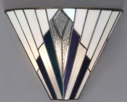 Astoria Tiffany Wall Light Art Deco Design