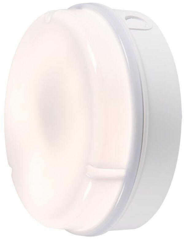 White IP65 Rust Proof 28w Opal Outdoor Bulkhead / Porch Light