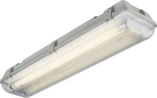 4ft Non Corrosive IP65 2 x 36w T8 Garage Fluorescent