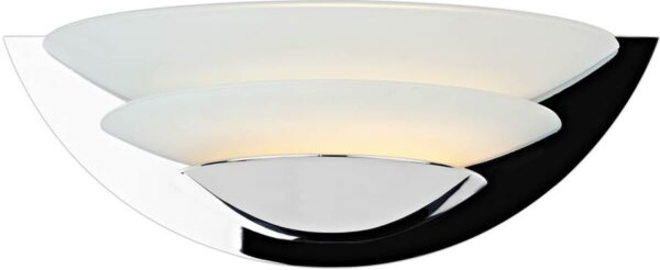 Dar Una Chrome 3 Tier Art Deco Style Wall Washer Light