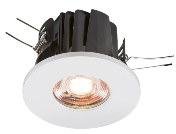 IP65 8w dimmable LED fire rated bathroom downlight cool white 4000k
