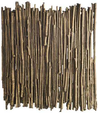 David Hunt Willow Small Modern Gold Cocoa Wall Washer Light