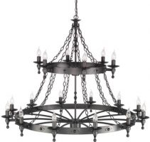 Wrought Iron Ceiling Fittings