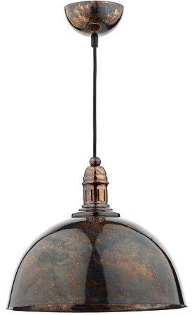 Dar Yoko Industrial Style Kitchen Mottled Bronze Pendant Light