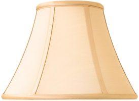 Zara Tapered Empire 12 Inch Honey Silk Table Lamp Shade