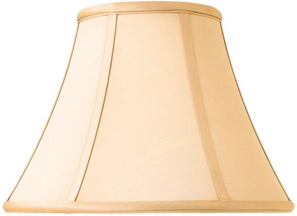 Zara Tapered Empire 12 Inch Honey Silk Table Lamp Shade