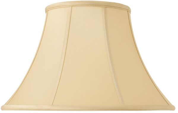 Zara Tapered Empire 16 Inch Honey Silk Table Lamp Shade