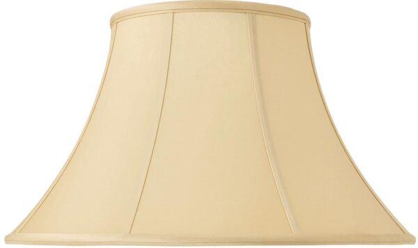 Zara Tapered Empire 18 Inch Honey Silk Table Lamp Shade