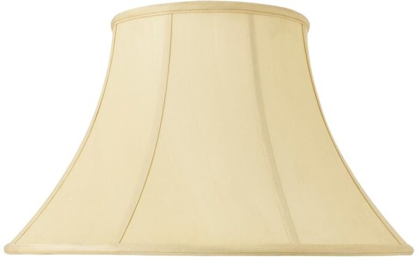 Zara Tapered Empire 20 Inch Honey Silk Floor Lamp Shade