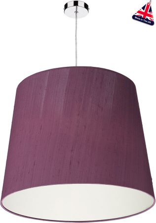Dar Zuccaro Large Hand Made Silk Drum Shade Various Colours