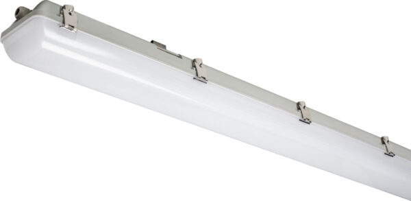 Dura IP65 rated anti-corrosive double row LED fluorescent