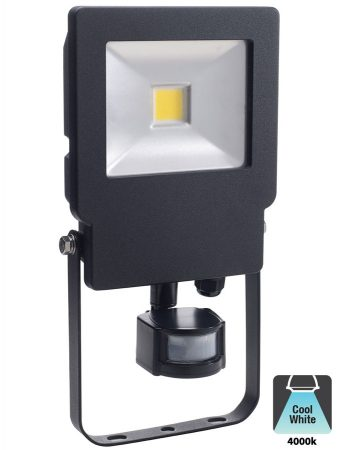 Bell Skyline 30w LED Outdoor PIR Security Floodlight Black IP65