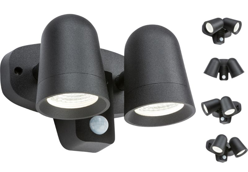 Outdoor Sensor Light With Manual Override