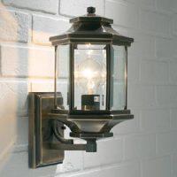 Brass And Copper Garden Lights