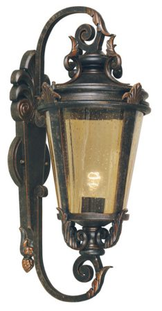 Baltimore Large Bronze Traditional Outdoor Wall Light