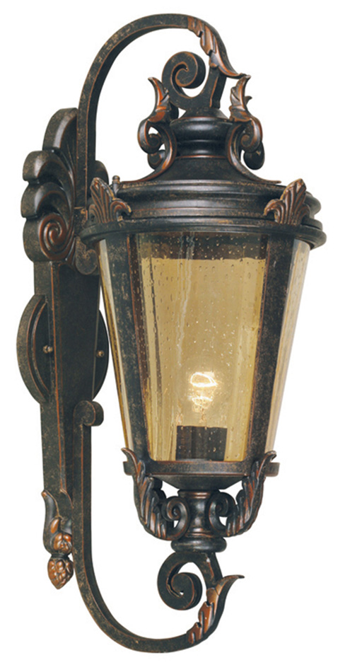 Baltimore Large Bronze Traditional Outdoor Wall Light BT1/L