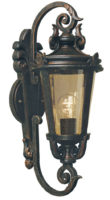 Baltimore Medium Bronze Traditional Outdoor Wall Light