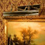 Blenheim Handmade Solid Brass 615mm Trough Picture Light