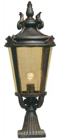 Baltimore Large Bronze Traditional Outdoor Post Top Lantern