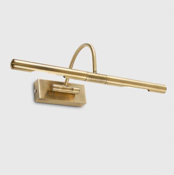 Capri 2 Lamp 39cm Picture Light Antique Brass Fully Adjustable