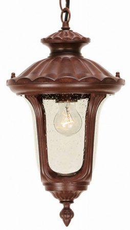 Elstead Chicago Rusty Bronze Hanging Porch Lantern