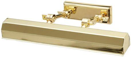 Elstead Chawton 2 Light Medium Adjustable Picture Light Polished Brass