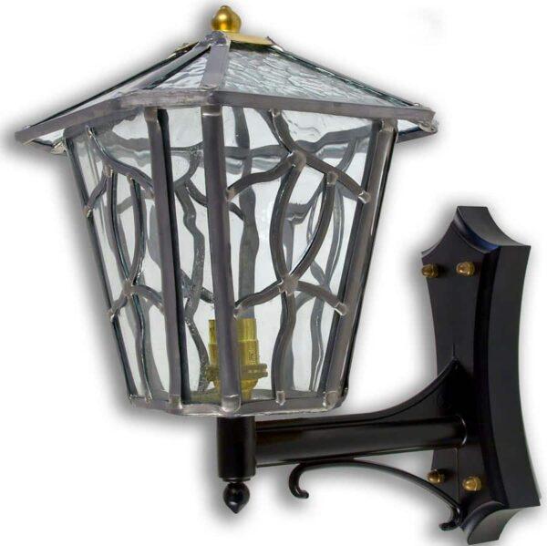 Cottingham Clear Leaded Glass Upward Outdoor Wall Lantern