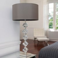 Crystal And Glass Table Lamps