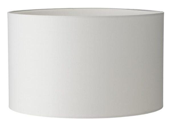 Ivory Cotton 25cm Drum Table Lamp Shade Rimini