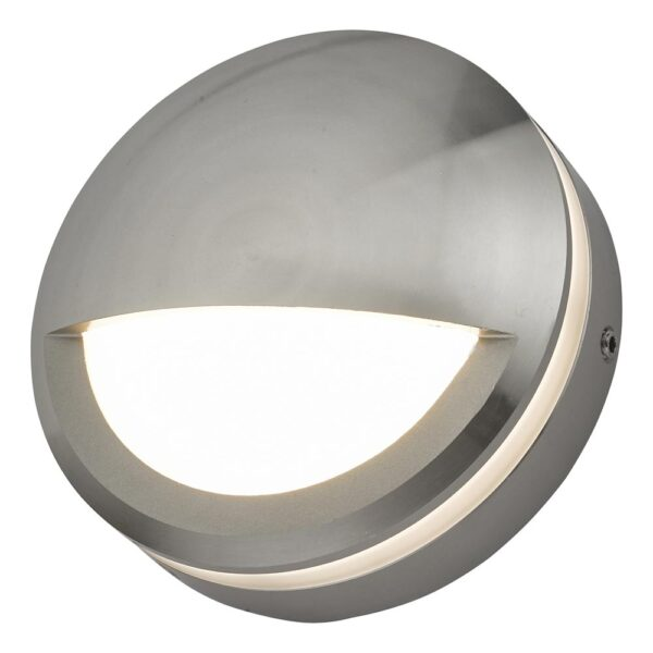 Dar Akos Modern 6w LED Eyelid Outdoor Wall Light Aluminium IP65