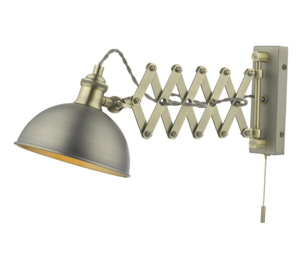 Dar Governor Extendable Industrial Switched Single Wall Spot Light