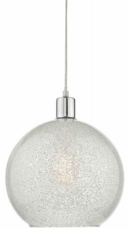 Dar Janna Pendant Light Shade Crystal Dust Glass Globe Easy Fit