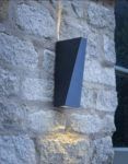 Dar Paco Angular 2 Light LED Outdoor Wall Washer Light Anthracite IP65