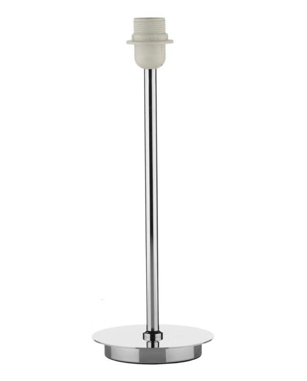 Dar Tuscan Modern 1 Light Table Lamp Base Only Polished Chrome