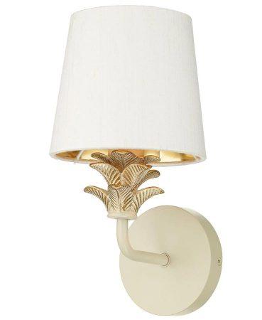 David Hunt Cabana Single Wall Light Cream & Gold