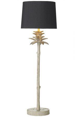 David Hunt Cabana Buffet Table Lamp Base Only Cream & Gold
