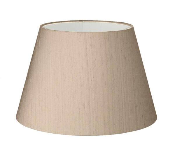 David Hunt Empire silk 35cm tapered lamp shade choice of colours