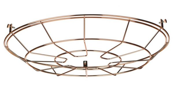 David Hunt Reclamation Pendant Cage Frame Copper