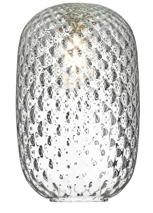 David Hunt Vidro Large Clear Dimpled Glass Pendant Lamp Shade