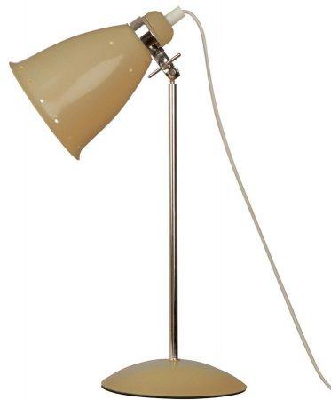 Kafe Retro Style Adjustable Desk Lamp Putty / Polished Chrome