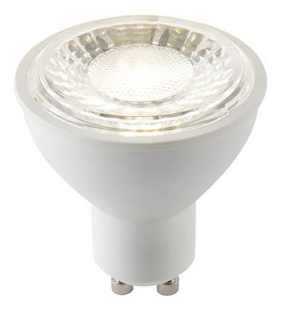 Dimmable 6w GU10 LED SMD Cool White 450 Lumens