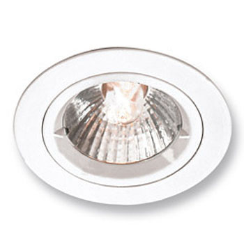 Satin Nickel 240v Fixed Cast GU10 Downlight
